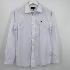 Ralph Lauren Oxford button down shirt youth sz 18